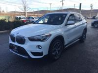 CARFAX One-Owner. Clean CARFAX. Wh 2018 BMW X1