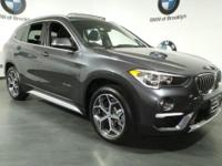 CARFAX One-Owner. Clean CARFAX. Gray 2018 BMW X1