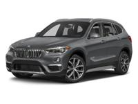 Boasts 31 Highway MPG and 22 City MPG! This BMW X1