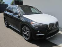 2018 BMW X1 xDrive28i Black  Options:  7 Speakers|Am/Fm