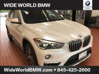 Mineral White Metallic 2018 BMW X1 xDrive28i AWD