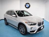 2018 BMW X1 xDrive28i Glacier Silver Metallic Heated