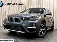 Mineral Gray Metallic 2018 BMW X1 xDrive28i AWD 8-Speed