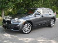 This BMW X2 boasts a Intercooled Turbo Premium Unleaded