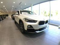 2018 BMW X2 xDrive28i Mineral White Metallic 2.0L