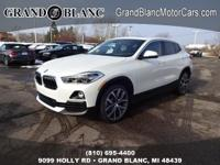Recent Arrival!  Mineral White Metallic 2018 BMW X2