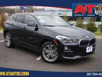 CARFAX One-Owner. Clean CARFAX. Jet Black 2018 BMW X2