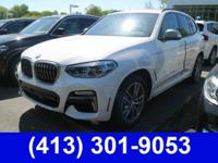 2018 BMW X3 M40i $6,184 off MSRP! 8-Speed Automatic,