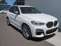 2018 BMW X3 M40i Alpine White 12.3 Dynamic Digital