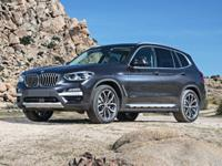 This 2018 BMW X3 comes with AWD/all-wheel drive, Black