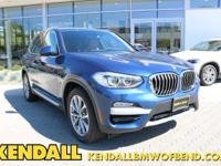 This outstanding example of a 2018 BMW X3 xDrive30i is
