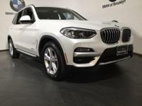 CARFAX One-Owner. Clean CARFAX. White Metallic 2018 BMW