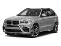 Delivers 19 Highway MPG and 14 City MPG! This BMW X5 M