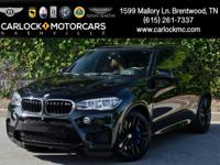 BMW X5 M with several desirable options. Perfect