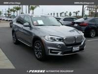 New Price! Clean CARFAX. Space Gray 2018 BMW X5