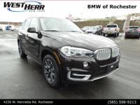 Brown Metallic 2018 BMW X5 xDrive35d AWD 8-Speed