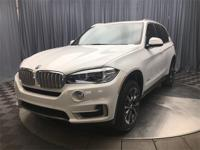 Alpine White 2018 BMW X5 xDrive35i AWD 8-Speed
