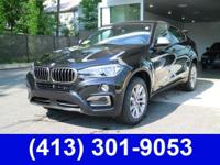 2018 BMW X6 xDrive35i Black Leather, ACC Stop/Go &