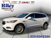 Summit White 2018 Buick Enclave Premium Group AWD