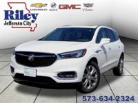 Riley Red Tag Sale! Summit White 2018 Buick Enclave