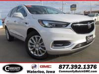 White+Frost+2018+Buick+Enclave+Premium+Group+AWD+9-Spee