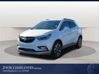 White Frost 2018 Buick Encore Essence AWD 6-Speed