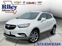 Riley Red Tag Sale! White Frost 2018 Buick Encore