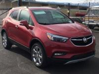 Red Metallic 2018 Buick Encore Premium AWD 6-Speed