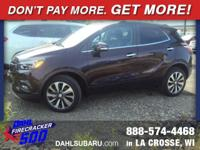 2018 Buick Encore Essence AWD CARFAX One-Owner. Clean