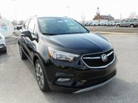 Ebony Twilight Metallic 2018 Buick Encore Preferred II