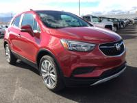 Red Metallic 2018 Buick Encore Preferred FWD 6-Speed