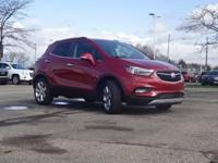 Red Metallic 2018 Buick Encore Premium FWD 6-Speed