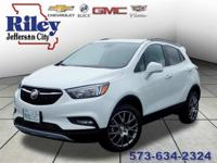 Riley Red Tag Sale! Summit White 2018 Buick Encore