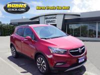 Recent Arrival! black carbon metallic 2018 Buick Encore
