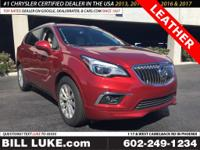 Options:  2018 Buick Envision Essence|Red|Leather!!!
