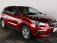 Chili Red Metallic 2018 Buick Envision Essence 18""