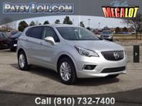 New Price! Galaxy Silver Metallic 2018 Buick Envision