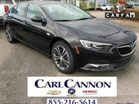 Ebony Twilight Metallic 2018 Buick Regal Essence FWD