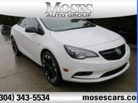Summit White 2018 Buick Cascada FWD 6-Speed Automatic