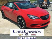 Sport Red 2018 Buick Cascada Sport Touring FWD 6-Speed
