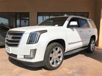 Crystal White 2018 Cadillac Escalade Luxury RWD