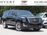 The 2018 Cadillac Escalade ESV is original icon of