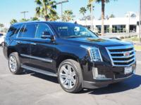 CARFAX 1-Owner, Cadillac Certified. NAV, Sunroof,