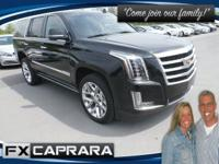 Black 2018 Cadillac Escalade Premium 4WD 10-Speed