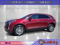 CARFAX One-Owner. Clean CARFAX. Red 2018 Cadillac XT5