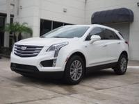 Recent Arrival! 2018 Cadillac XT5 Luxury Crystal White