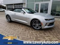 2018 Chevrolet Camaro 1LT in Silver Ice Metallic, *R-S