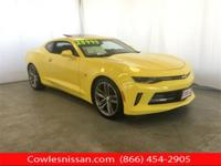 New Price! CARFAX One-Owner. Yellow 2018 Chevrolet