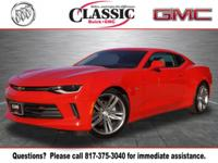 New Price! CARFAX One-Owner. Clean CARFAX. Red 2018