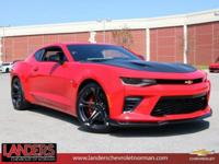 Red Hot 2018 Chevrolet Camaro SS w/1SS RWD 6-Speed
